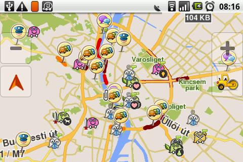 waze térkép Előnyök és hátrányok – Waze Magyarország