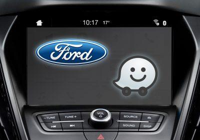 A Ford SYNC 3 és a Waze